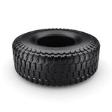 3D rendering truck tire. On a white background Stock Photography