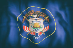 Utah State flag Royalty Free Stock Photos