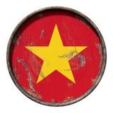 Old Vietnam flag Royalty Free Stock Photo