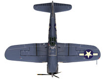 3d Rendering of a Vought F4U Corsair Royalty Free Stock Photography