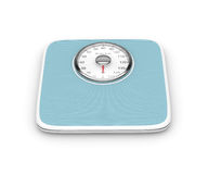 3d rendering of weight scale isolated over white. Background Royalty Free Stock Photography