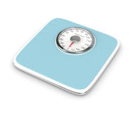 3d rendering of weight scale isolated over white. Background Stock Photo