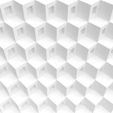 3d Rendering of White Cubes Background. Abstract Futuristic Shap. E Design. Minimal Geometric Wallpaper vector illustration