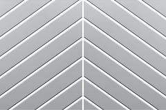 3d rendering, white diagonal line on gray plastic wall surface, abstract background.  stock illustration