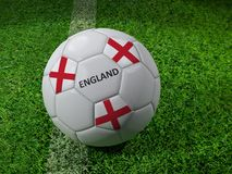England soccer ball Royalty Free Stock Images