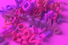 3D rendering. Yes & no keywords cloud. For graphic design or background, CGI typography. CGI typography, yes & no keywords cloud, for design texture or vector illustration