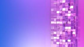 3d renderingu abstrakcjonistyczny geometryczny tło z nowożytnym gradientem barwi w niskim poli- stylu 3d powierzchnia z gradient  Ilustracji