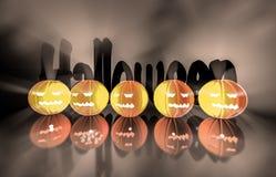 3d renderingu bania dla Halloween Zdjęcie Stock