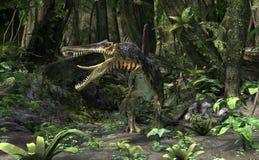 3D renderingu dinosaur Spinosaurus Fotografia Royalty Free