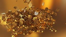 3d renderingu email Zdjęcie Royalty Free