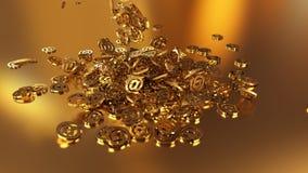 3d renderingu email Obraz Stock