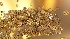 3d renderingu email Zdjęcia Stock