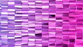 3d renderingu niski poli- abstrakcjonistyczny geometryczny tło z nowożytnymi gradientowymi kolorami 3D powierzchnia V6 Ilustracji