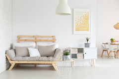 3d renderingu pokoju kanapa zdjęcie stock