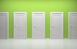 3d rendeu a composição interior Fotos de Stock