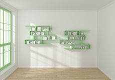 3D rendeu o interior Fotografia de Stock