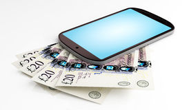 Pagamento móvel Foto de Stock