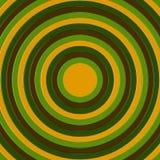 3D rendono dei cerchi concentrici che incresing nella dimensione, riempiendo la struttura Fotografie Stock