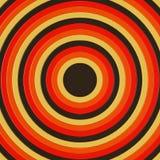 3D rendono dei cerchi concentrici che incresing nella dimensione, riempiendo la struttura Fotografia Stock