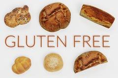 3D rendono dell'alimento libero del glutine fotografie stock libere da diritti