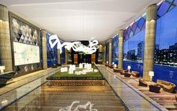 3D rendono di costruzione moderna royalty illustrazione gratis