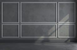 3d rendono di stanza classica illustrazione di stock