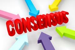 Consenso Fotografia Stock