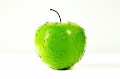 3d rendono l'immagine della mela verde fresca Immagini Stock