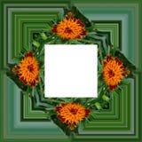 3D rendono la struttura del fondo del fiore Immagini Stock