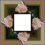 3D rendono la struttura del fondo del fiore Fotografie Stock Libere da Diritti