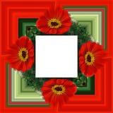 3D rendono la struttura del fondo del fiore Fotografia Stock Libera da Diritti