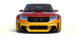 3D rendu - voiture générique de concept Photos stock