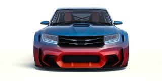 3D rendu - voiture générique de concept Image libre de droits