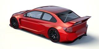 3D rendu - voiture générique de concept illustration de vecteur