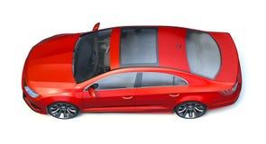 3D rendu - voiture générique de concept Images stock