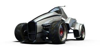 3D rendu - voiture générique de concept Photographie stock