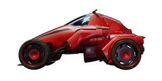 3D rendu - voiture générique de concept Photographie stock libre de droits