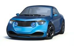 3D rendu - voiture générique de concept Image stock