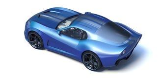 3D representación - coche genérico del concepto fotografía de archivo