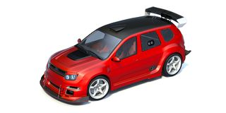 3D representación - coche genérico del concepto Imagenes de archivo