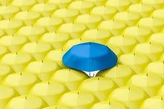 3d representaci?n, el paraguas con el fondo blanco libre illustration