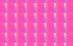 3D resumen el fondo de rectángulos que obran recíprocamente rosados, violetas y amarillos en un modelo Fotografía de archivo libre de regalías