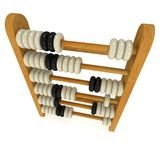 3d retro abacus Royalty Free Stock Photos