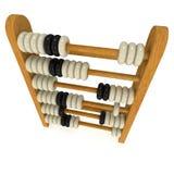 3d retro abacus Royalty Free Stock Photos