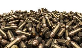 Pila de las balas Imagen de archivo libre de regalías