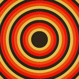 3D rinden de los círculos concéntricos incresing de tamaño, llenando el marco Fotografía de archivo