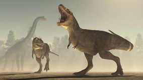 3d rinden el dinosaurio libre illustration