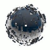 3d rinden el ejemplo de la esfera de la estructura libre illustration
