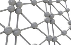 3d rinden el ejemplo de la estructura molecular de la malla Imagen de archivo libre de regalías