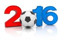 3d rinden - el fútbol 2016 Imagen de archivo libre de regalías